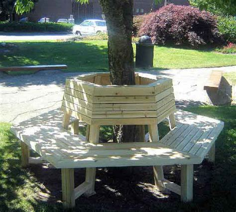 diy tree bench pdf diy tree benches wood download white ash plywood