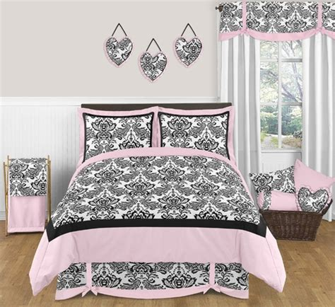 pink and black comforter sets full pink and black sophia teen bedding 3 pc full queen set