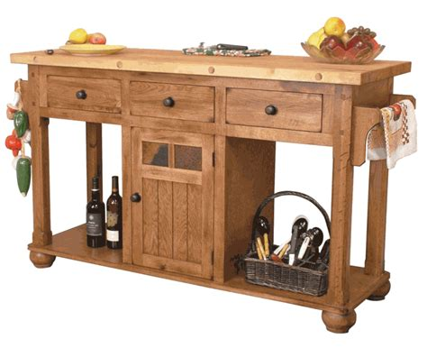 butcher block portable kitchen island rustic oak kitchen island butcher block oak kitchen