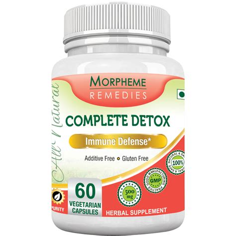 Complete Detox by Morpheme Complete Detox Home Remedies Supplements