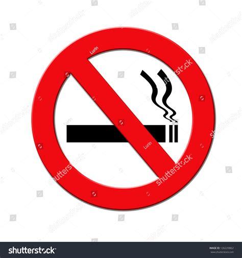 no smoking sign black background red black no smoking sign on stock illustration 126229862