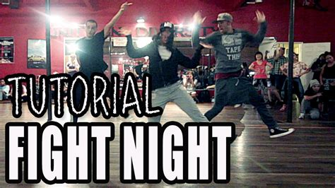 tutorial dance one more night fight night migos dance tutorial choreography