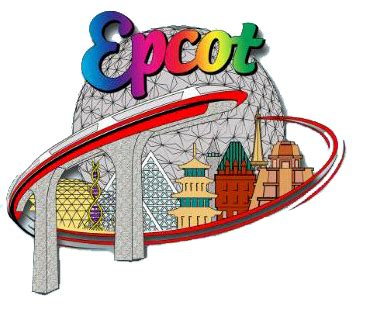disneyland clipart epcot pencil and in color disneyland