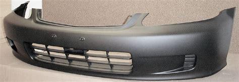 1999 honda accord coupe front bumper 1999 2000 honda civic 2dr coupe 2dr hatchback front bumper cover bumper megastore