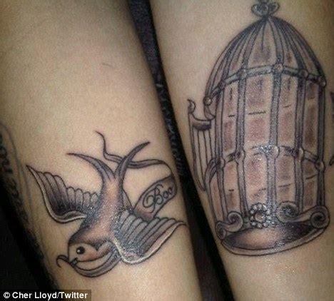 lloyd tattoos magpie nails cher lloyd tattoos inspired