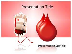 Blood Ppt Templates Free by Blood Donation Powerpoint Template Background Of Blood Drop
