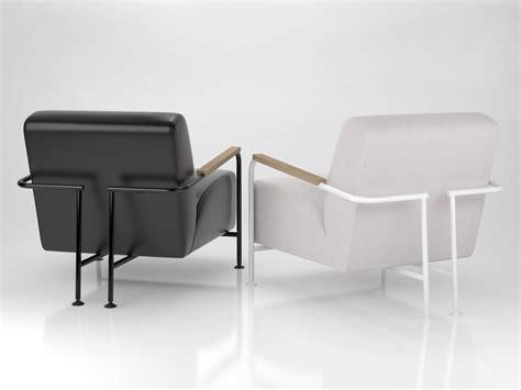 colubi armchair 3d model viccarbe habitat