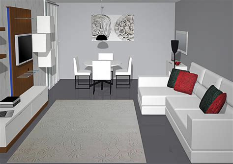 muebles de salon comedor milenium  en color blanco  nogal salones rectangulares comedor