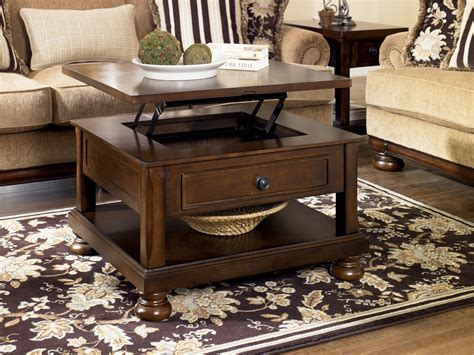 porter rectangular lift top cocktail table from