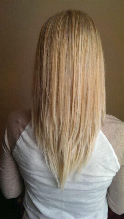 hair that shaped in an upside down v beautiful v shape hair ideas on pinterest cut shaped