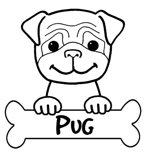 boxer puppy coloring page boxer dog cute little pug coloring pages puppy pictures to