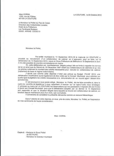 Modèle De Lettre Pour Un Recours Gracieux Le Secr 233 Taire De Mairie Et Le Collaborateur De Cabinet Bienvenue Sur Le Site Des Elus De Bon