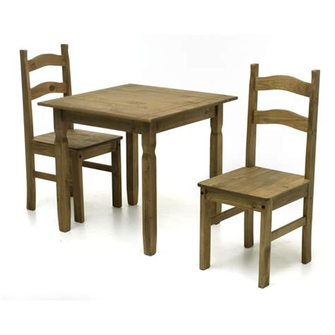 square dining table and 2 chairs home gift square dining set with 2 chairs pine at wilko