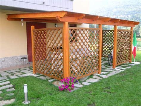 tettoie in legno leroy merlin pensiline pergole tettoie giardino caratteristiche