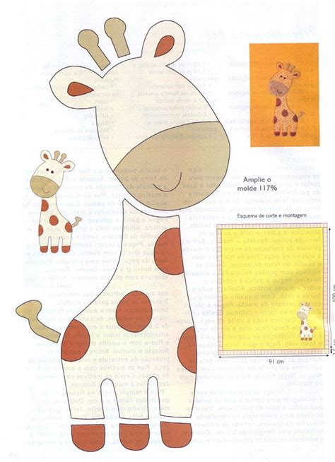 giraffe template 2 zoo pinterest girls patterns and