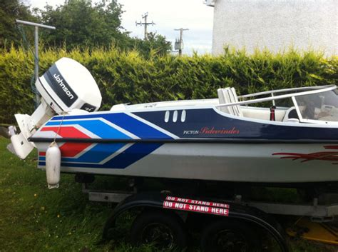 picton boats speedboat 18 picton sidewinder in donegal for sale in