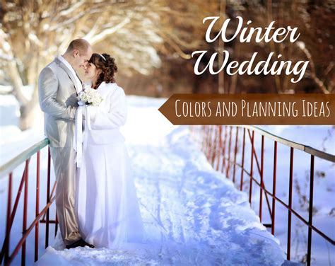 winter wedding colors and planning ideas the wedding