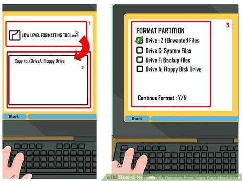 format hard disk permanently how to permanently remove files from your hard drive 7 steps