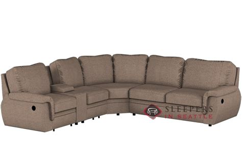 Reclining Sectional Sleeper by Customize And Personalize Brunswick By Palliser True