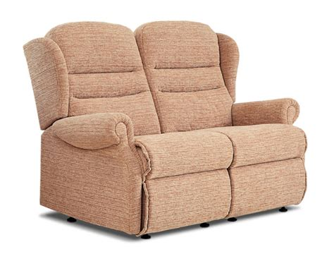 small 2 seater settees ashford small fabric fixed 2 seater settee sherborne