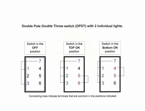 on on dpdt switch wiring diagram free
