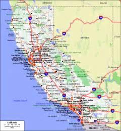 mappa di california