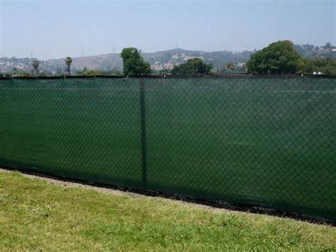 Landscape Fabric Fence 6 X25 Fence Privacy Screen Taped Mesh Fabric Green