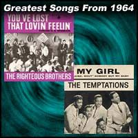 100 greatest songs from 1964