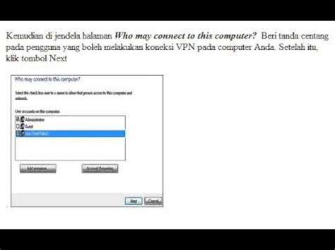 Cara Membuat Vpn Network | cara membuat vpn server sendiri di windows 7 youtube