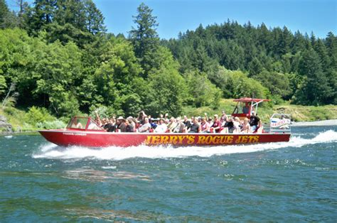 jet boat gold beach 64 mile trip jerry s rogue jets mail boats gold