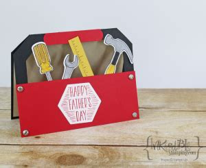 Tool Box Card Template by Cards Paper Crafting Crafting Buy And