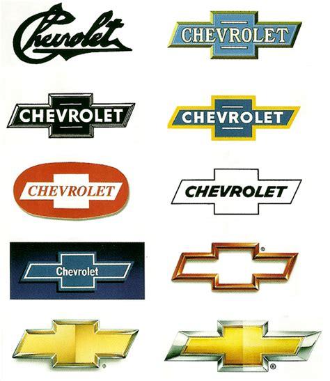 chevrolet car logo evolution of car manufacturers logos the visual blog