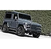 Kahn Design Land Rover Defender XS90 Chelsea Wide Track  GTspirit
