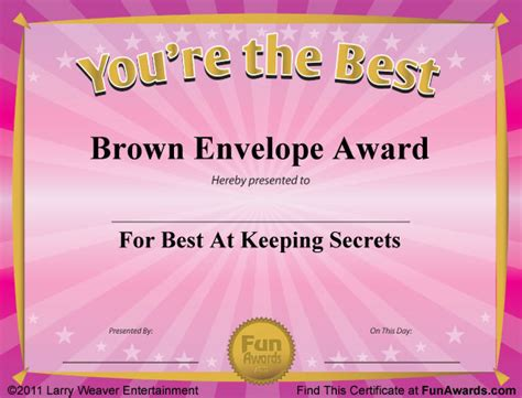 funny awards for work templates funny award certificates 101 funny certificates to give