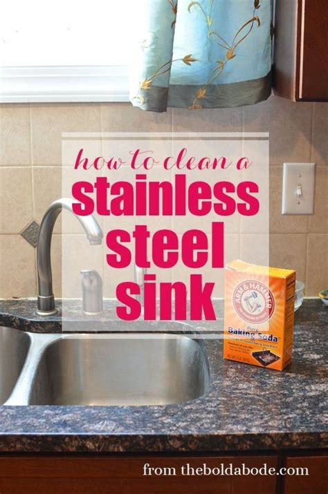 The Best Way To Clean A Stainless Steel Sink Home And Garden Best Way To Clean Stainless Steel Kitchen Sink