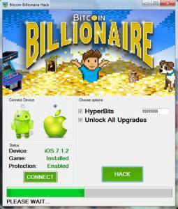 bitcoin billionaire tutorial hack para bitcoin billionaire