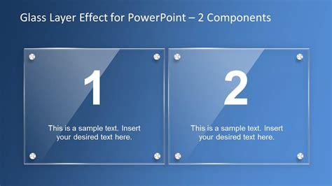 powerpoint design effects glass layer effect powerpoint template slidemodel