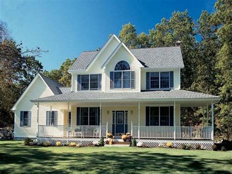 Farmhouse Plans With Porches by Farm Style House Plans With Wrap Around Porch Farmhouse