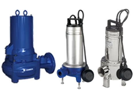 submersible wastewater and sewage pumps lowara