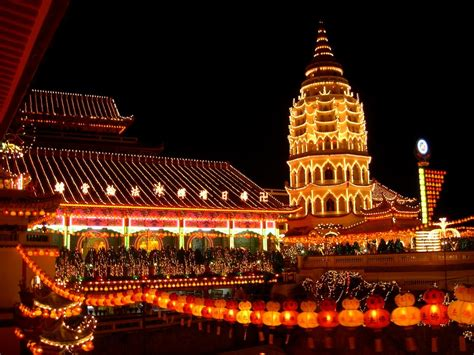 new year in penang 2018 panoramio photo of kek lok si temple lunar new year