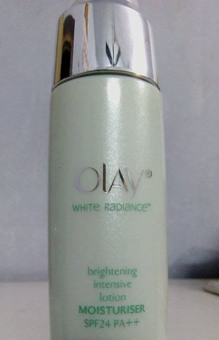 Olay White Radiance Lotion Spf 24 olay white radiance brightening intensive lotion moisturiser spf 24 pa