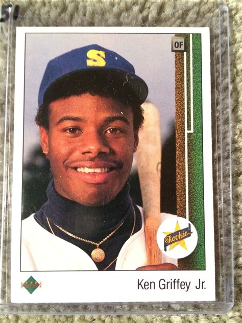 Deck Ken Griffey Jr by Lot Detail Ken Griffey Jr 1989 Deck