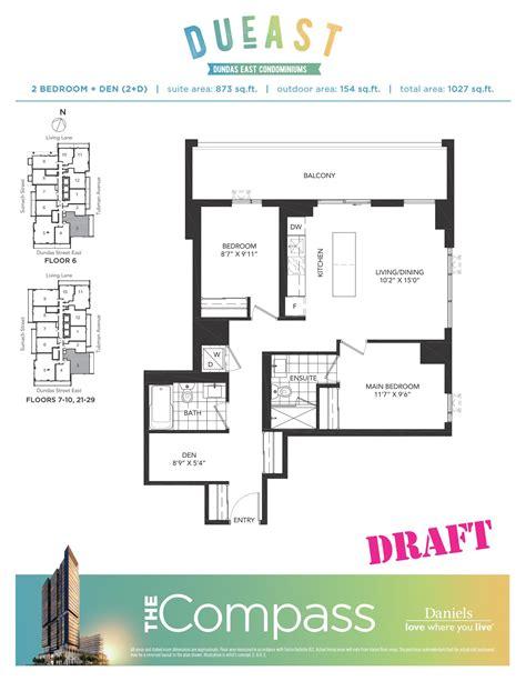 high park floor plans high park floor plans dueast condos floorplans
