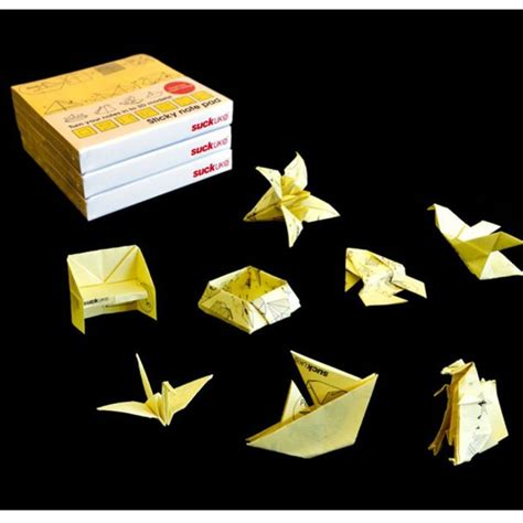 Origami Sticky Notes - origami sticky note pad iwoot