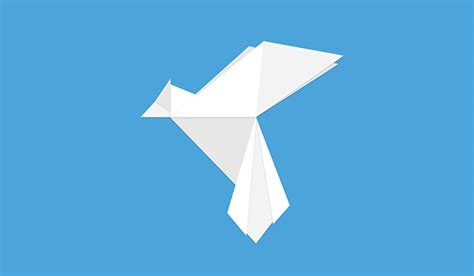 Origami Bird Logo - 30 amazing origami inspired logo designs idevie