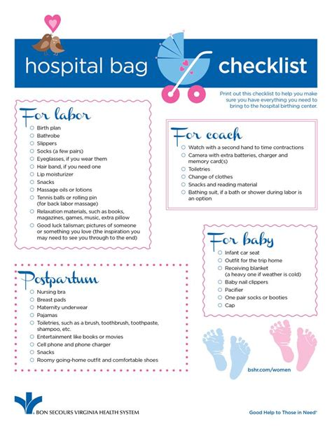 hospital checklist for c section delivery 25 best ideas about maternity hospital bag on pinterest