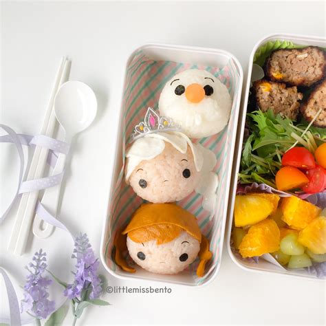 Ekkado Bento Frozen Food frozen tsum tsum bento miss bento