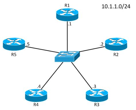 router diagram vyatta ospf designated router concepts