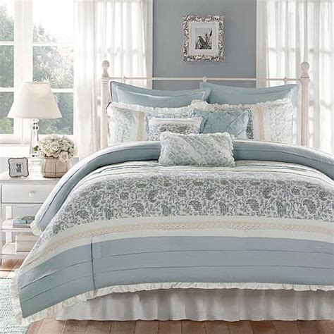 hsn bedding madison park dawn comforter set queen 7903358 hsn