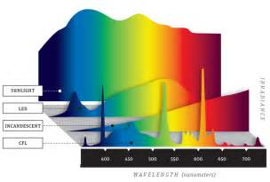 spectrum of led light bulbs ultimate light bulb test incandescent vs compact